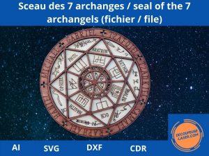 sceau 7 archanges fichier